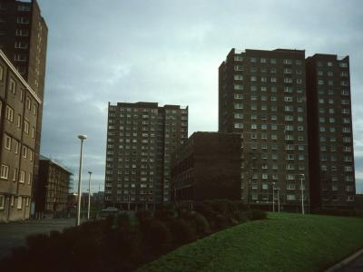 View of Newshot Court and Howcraigs Court