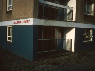 Groundfloor view of Dalmuir Court