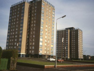 View of Glen Court and Millbrae Court