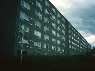 View of 7-storey blockin Kildrum 19 development