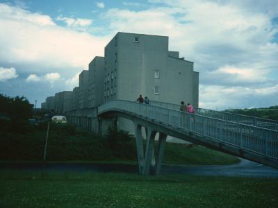 View of 6-storey block on Greenrigg Road