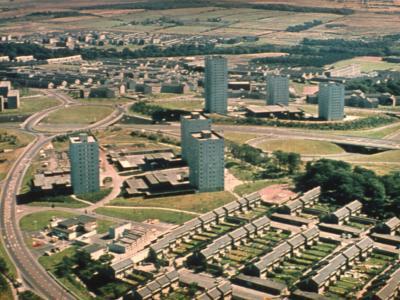 View of Muirhead 6 and Kildrum 22 developments