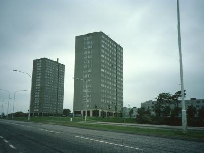 View of Clyde Tower and Calder Tower