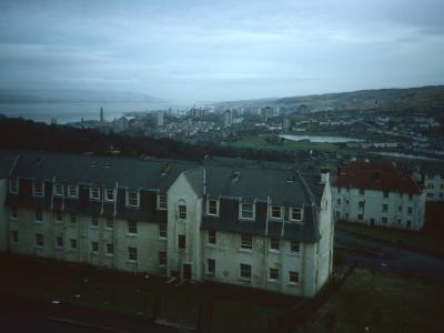 View of Greenock from Tay Street area