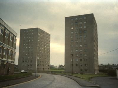View of Lambie Court and O'Connor Court