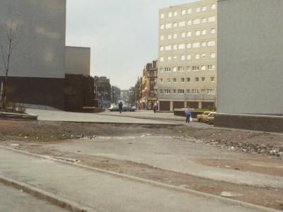 View of blocks in Anderston Cross development