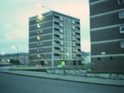 View of Jura Court blocks on Barfillan Drive