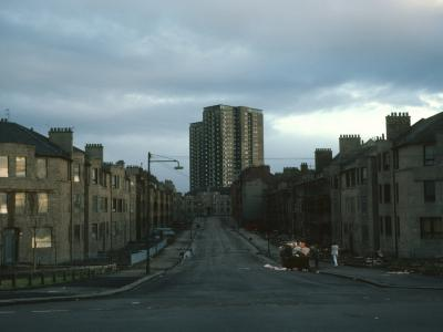 View of Plean Street blocks from Drysdale Street