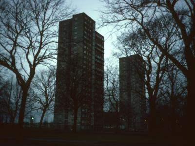 View of 22-storey Dumbreck Court blocks