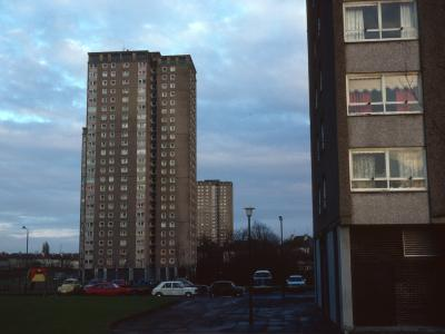 View of Kirkton Avenue blocks