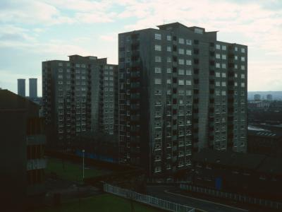 View of Lister Heights and Simpson Heights