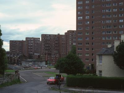 General view of Unit 2 of Pollokshaws development