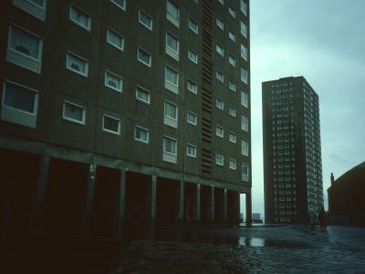 View of 25-storey blocks on Rosemount Street