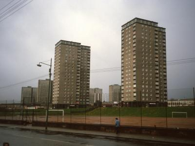 View of 80 Charles Street and 90 Charles Street with Royston development blocks in background