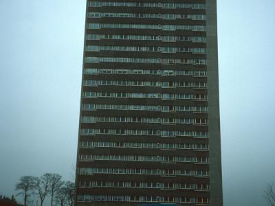 View of 23-storey block in Sandyhills development