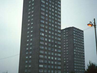 View of 250 Edgefauld Road and 15 Croftbank Street