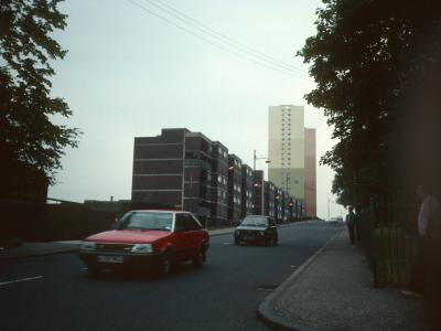 View of 6-storey block on Balgrayhill Road