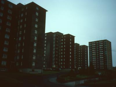 View of 10-storey blocks with 99 Prospecthill Circus in background
