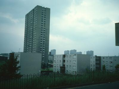 View of 25-storey block in Townhead Area 'B'