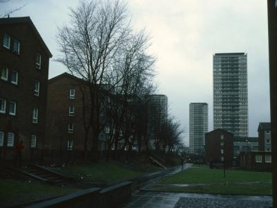 View of 26-storey blocks on Wyndford Road