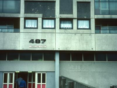 Entrance to 487 Cumberland Street