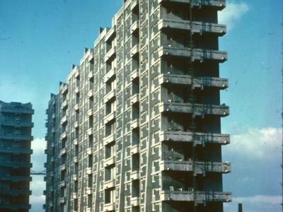 View of 20-storey block on Queen Elizabeth Square