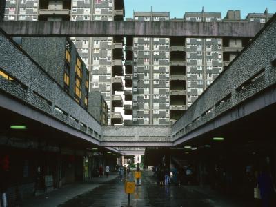 View of 20-storey blocks on Queen Elizabeth Square