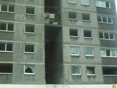 View of View of condemned 20-storey block in Sighthill