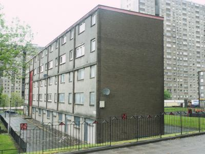 View of blocks in Sighthill
