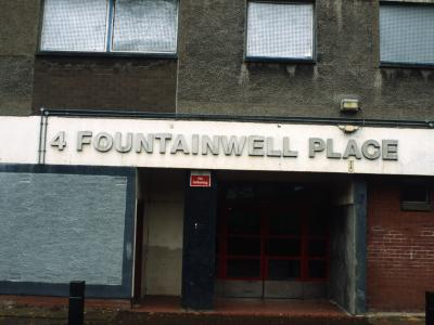 Entranve to Fountainwell Court