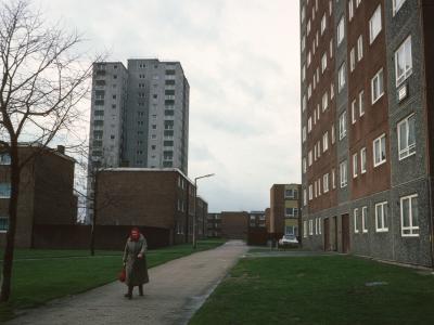View of blocks on Gascoigne Estate