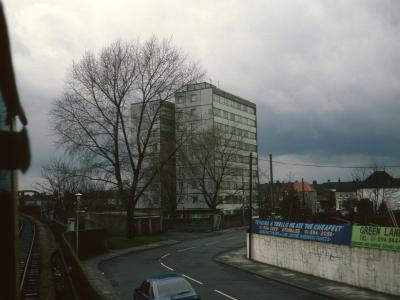 View of West House from Victoria Road
