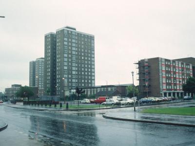 View of blocks on Beacontree Heath Estate