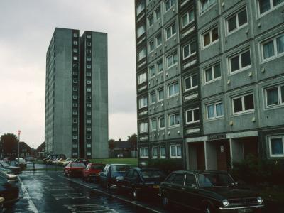 View of blocks on Goresbrook Road
