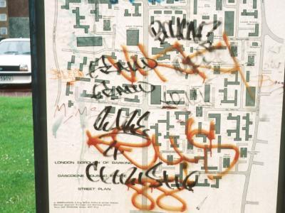 Map of Gascoigne Estate