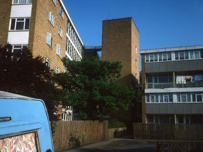 View of Webb Court from Enfield Road