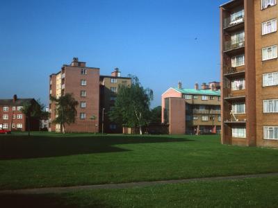 View of blocks on Clayponds Gardens