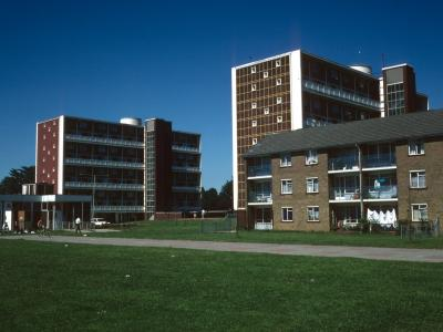 View of Cumberland House and Graham House from Foxglove Close