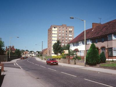 View of Brookbank from Turkey Street