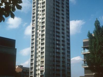 View of 25-storey block