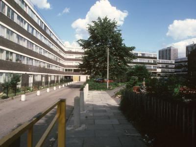 General view of Holly Street Estate