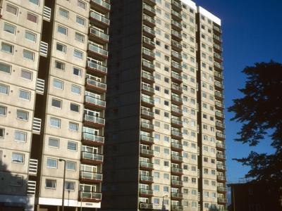 20-storey blocks on Holly Street Estate