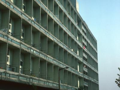 View of 11-storey block on Bentham Road development