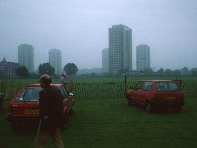 General view of Trowbridge Estate