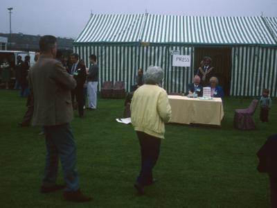 Event taking place on Trowbridge Estate