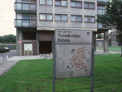 Map of Trowbridge Estate