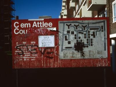 Map of Clem Attlee Court