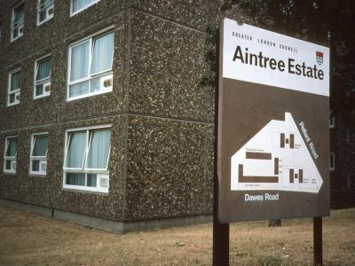 Map of Aintree Estate