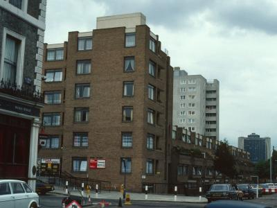 View of 5-48 Walham Green Court from Waterford Road