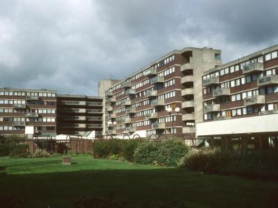 View of internal courtyard of Ashcroft Square